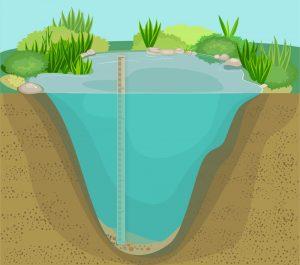 Pond depth 02
